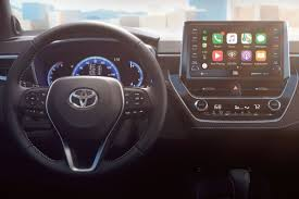 The new Toyota Corolla will have Apple CarPlay and Amazon's Alexa ...
