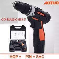 Bộ máy khoan và vặn ốc vít 45 chi tiết có sạc tích điện 4802- Máy