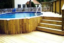above ground pool with deck surround. Above Ground Pool Deck Designs Mxsportz Com More Awesome Inside Surround Ideas Plans Oval In Decks With R