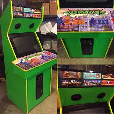 Ninja Turtles Arcade Cabinet Version 20 Of Our 4 Player Teenage Mutant Ninja Turtles Arcade