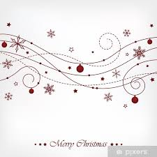 Christmas Swirls Christmas Swirls Poster