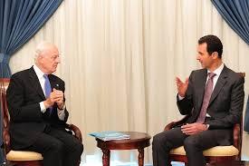 Image result for بشار اسد: آمریکا حامی تروریسم است با آن ائتلاف نمیکنیم