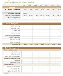 Year Budget Spreadsheet E Tobacco Free Excel Budget Template Part 3