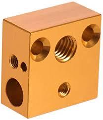 Aibecy Creality <b>3D Printer</b> Heating Block <b>20 x 20 x</b> 10 mm for ...