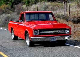 1970 CHEVY SHORT WIDE BED PICKUP CUSTOM PAINT WHEELS 283 4BBL A ...