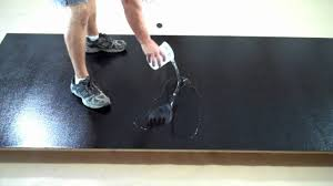 black floor paintTruCrete  How to install one day concrete flake Garage Floor