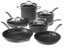 kitchen pans and pots