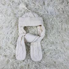 Details About Jacadi Paris Cream Knit Hat Winter Baby 41 1 Mon