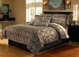 comforter set with deep pocket sheets queen size sets leopard print bedding bedrooms marvellous 7 piece
