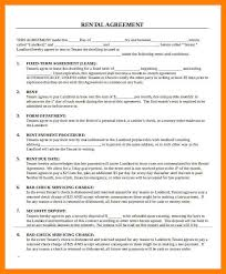8+ Free Printable Sample Rental Agreement | St Columbaretreat House