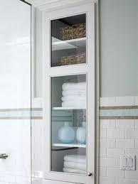 built in bathroom wall storage. Simple Bathroom 03 Builtin Cabinet In Between Studs Bathroom  Shelterness Inside Built In Bathroom Wall Storage T