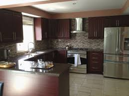 kitchen paint colors with oak cabinets and black appliances new kitchen wall colors with dark cabinets