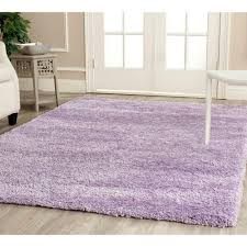 Living Room Area Rug Size Safavieh California Shag Lilac 3 Ft X 5 Ft Area Rug Sg151 7272 3