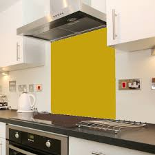 Ral 1024 Ochre Yellow In 2019 Splashback Coloured Glass