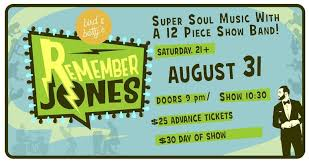Remember Jones And 12 Piece Band Lead Saturdays Lbi Area