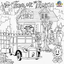 Small Picture Halloween Fun Coloring Pages Coloring Coloring Pages