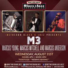M3 Marcus Mitchell Marcus Young Marcus Anderson Dse Live