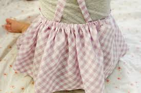 Free Baby Dress Patterns Mesmerizing Gingham Style Free Baby Jumper Dress Pattern With A Ruffle