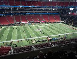 Atlanta Falcons Seating Chart With Rows Mercedes Benz Stadium Section 214 Seat Views Seatgeek