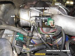 1999 2003 7 3l power stroke turbocharger removal & installation  Ford Engine Air Heater 7 3 Powerstroke Wiring remove air intake heater (aih) wire leads (pair of lug connectors)