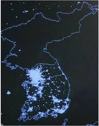 north korea vs  south korea  a natural economic experiment   aei    the dark side