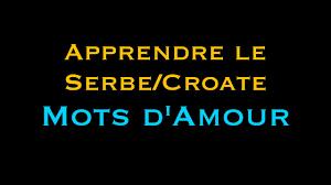 Dire Je Taime En Serbecroate Et Mots Damour Vidéo Serbecroatecom