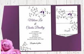 16 Pocket Wedding Invitation Templates Psd Jpg Indesign