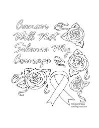 Red Ribbon Color Pages Cancer Ribbon Coloring Pages Derofc Club