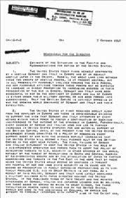 pearl harbor advance knowledge conspiracy theory the mccollum memo edit