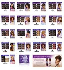 Dark And Lovely Colors In 2019 Hair Dye Color Chart Hair