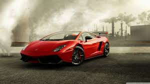 Red Lamborghini Gallardo ❤ 4K HD Desktop Wallpaper for 4K Ultra ...