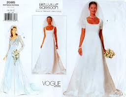 Vogue Bridal Patterns Custom Design Inspiration