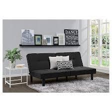 futon set black room essentials