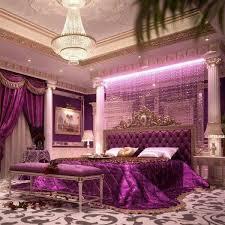 purple bedrooms fancy bedroom