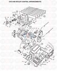 Potterton british gas 50 f2 appliance diagram gas boiler