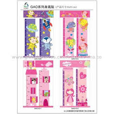 China Growth Chart Stickers For Kids On Global Sources