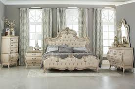 Elsmere Antique White Bedroom Furniture