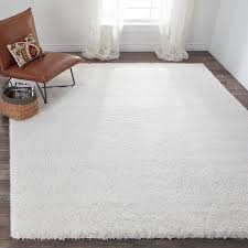 white carpet flooring. Contemporary Flooring Shop Safavieh California Cozy Plush Milky White Shag Rug  On Sale Free  Shipping Today Overstockcom 7516131 Intended Carpet Flooring
