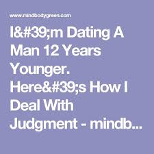 problems of dating a younger guy