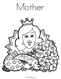 Small Picture Mother Color PagesColorPrintable Coloring Pages Free Download
