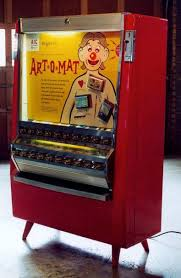 Drink O Matic Personal Vending Machine Enchanting Artomat Retired Cigarette Vending Machines Converted To Sell Art