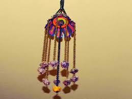 this is a beautiful hanging craft to decorate our home party function etc