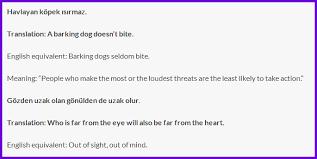 Turkish Quotes With English Translation
