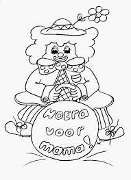 Tekening Voor Mama Krijg Het Kleurplaat Gezicht Mama Archidev