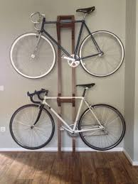 ... Decoration:Bike Wall Shelf Double Bike Rack Wall Cycle Wall Storage How  To Hang A
