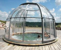 Free Standing Rigid Above Ground Pool Domes Above Ground Pools