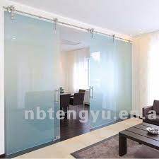 double glass barn doors. Modern Sync Barn Door Hardware For Double Glass Doors I