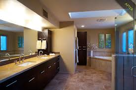 bathroom remodeling tucson az. Brilliant Remodeling 14 Master Bath Remodel With Ebony Stained Bellmont Alder Cabinets Accented  Danze Fixtures  Inside Bathroom Remodeling Tucson Az U