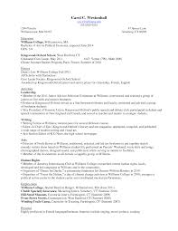 Freshman College Student Resume Free Resume Example And Writing
