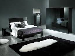black bed with white furniture. Black And White Bedroom Ideas With Art Wall Plus Panel Bed 2017 Silver Images Design Simple Furniture R